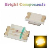 10 x 0603 Yellow LED (SMD) - Ultra Bright - UK - 1st CLASS POST