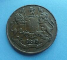 East India Co, Half Anna 1835 in Good Condition.