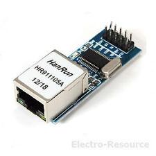 ENC28J60 Arduino compatibile con il modulo di RETE Ethernet LAN. STOCK Regno Unito.