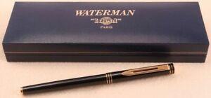 Waterman Paris Fountain Pen ORIGINAL Case, Cartridge & Paperwork. NEVER USED