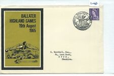 GB - SOUVENIR COVER - 1098 - SPECIALS - 1965 - BALLATER HIGHLAND GAMES, ABERDEEN