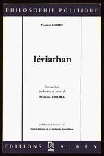 THOMAS HOBBS, LEVIATHAN, TOME 2
