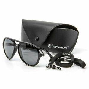 Saber Pilot Polarised Sunglasses Glasses Polarized Carp Fishing Tackle
