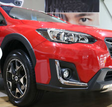 fit Subaru XV 5dr Hatchback 2017 2018 Chrome Front Fog Lamp Eyebrow Cover Trim