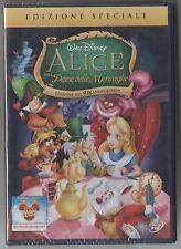 ALICE NEL PAESE DELLE MERAVIGLIE DVD DISNEY BIA 0195502 Z3A ED SPEC.SIGILLATO!!!