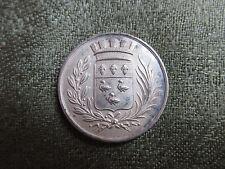 French Silver Jeton / Token -- Société Académique de Laon -- France