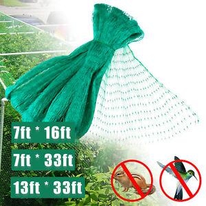 33FT Garden Anti Bird Netting Heavy Duty Plants Fruits Berry Mesh Protective Net
