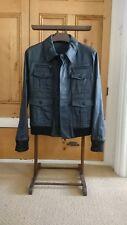 Dior Homme black military style jacket size 48 Hedi Slimane era vintage