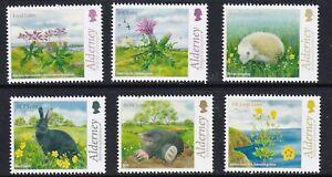 Alderney 2015. Alderney Fauna & Flora  SGA545/50  MNH