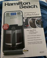 Hamilton Beach 46201 12 Cup Digital Coffee Maker, Stainless Steel