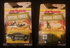 Majorette - Special Forces - Serie 220 - Military Police and Ambulance Set of 2