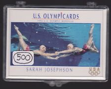 (500) 1992 US OLYMPIC HOPEFULS SARAH JOSEPHSON CARDS #75 ~BIG LOT ~ SYNCHRONIZED