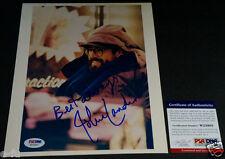 JOHN LANDIS Signed Photo PSA/DNA Autograph Director Animal House Three Amigos