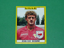 N°112 JEAN-LUC BUISINE LILLE OSC LOSC PANINI FOOTBALL FOOT 89 1988-1989