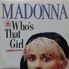 """Vinyle 45T Madonna """"Who's that girl"""""""