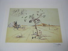"Salvador Dali Lithograph "" Telephone ""  Plate-Signed & Numbered."