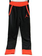 Jordan Jumpman Youth Boy's Fleece Jogger Pants Black/Infared Medium (10-12 YRS)