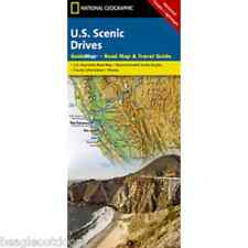 National Geographic GuideMap US Scenic Drives Road Map & Travel Guide GM00620510