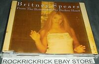 BRITNEY SPEARS - FROM THE BOTTOM OF MY HEART 4 TRACK RARE CD AUSTRALIA PRESSING