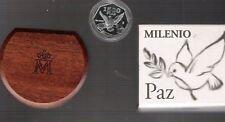 monedas españolas plata 2000 Milenio paz 1500 ptas
