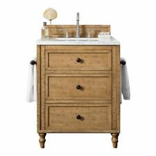 26 in. Single Sink Vanity in Driftwood Patina Finish