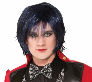 Twisted Attractions Indigo Night Ringmaster Wig Adult Costume Accessory NEW