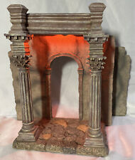 "Fontanini Heirloom ~ Lighted Pillared Entrance #94801 ~ For 5"" Nativity - MIB"