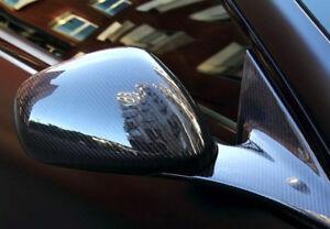 For Maserati Granturismo GT Quattroporte Real Carbon Fiber Side Mirror Cover Add