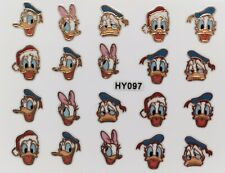 Nail Art 3D Decal Stickers Disney's Donald Duck HY097