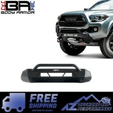 Body Armor 4X4 Stubby HiLine High Clearance Front Bumper for 16-20 Toyota Tacoma