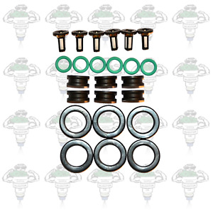Honda Keihin Early Type 2 Fuel Injector Seals & Filters 6 Cylinders - Kit 137