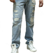 Nordstrom Mens Gilded Age Distressed Jeans Made W/USA Selvedge Cone Denim! Sz32