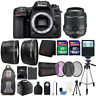 Nikon D7500 20.9MP DX-Format CMOS Digital Camera with 18-55 Lens and More