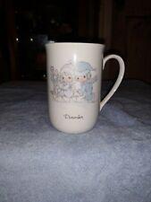 Precious Moments December Coffee Cup Mug
