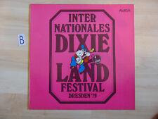 Schallplatte  ST33 Vinyl. Internationales Dixieland Festival Dresden 79