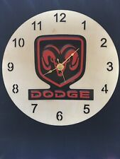 "Dodge Ram Wall Clock 9"" New"