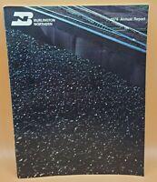Vintage Burlington Northern 1976 Annual Report Financial Review Publication