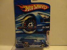 2006 Hot Wheels #5 Blue Ferrari 512M w/Gold 5 Spoke Wheels