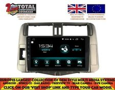 "9"" GPS NAVI CARPLAY ANDROID AUTO 9.0 BT DAB+ 8CORE TOYOTA PRADO 2010-13 DHS2145"