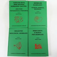 William Corliss Sourcebook Project - Catalog of Geological Anomalies, 4 Books
