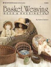 Basket Weaving Beds & Bassinets for Dolls Pat Depke PD 8018 1992 Craft World