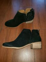 SUSINA Blakely ankle boots Black Suede women 9 M store display