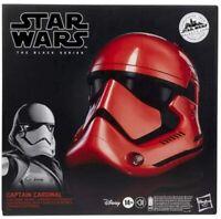 Star Wars The Black Series Galaxy's Edge Captain Cardinal Helmet