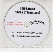 (GG669) Bon Garcon, Freek U (remixes) - DJ CD