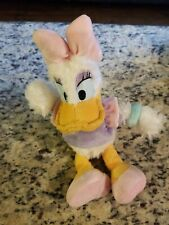 "Disney Parks Daisy Duck Plush Stuffed Animal Disneyland World Soft Toy 11"""