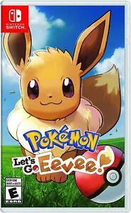 Pokemon: Let's Go, Eevee Nintendo Switch Trainer RPG Pikachu Game Freak] NEW