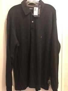Men's NWT Longsleeve Black IZOD Sweatshirt-Size L