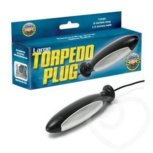 Zeus Electrosex Torpedo Anal & Vaginal Plug Electrifying Stimulation, Large, New