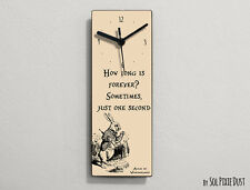 Alice in Wonderland -  How long is forever ? ...  -Wall Clock
