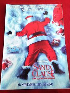 Santa Clause Kinoplakat Poster A1, Walt Disney, Tim Allen Eine schöne Bescherung